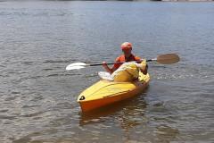 Along clean rivers en kayak sur la Parrmatta river