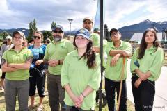 l'équipe des gardes forestiers