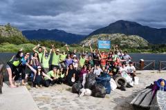 Succés du nettoyage à Futaleufu avec Along clean rivers