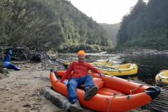 Mon kayak orange