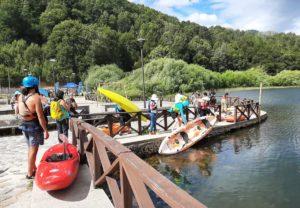 lles kayaks pour le nettoyage